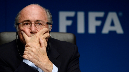 Mr Blatter said he would never make comments about another organisation unless he was certain as to what happened