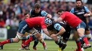 Glasgow put Munster under pressure from the opening moments...