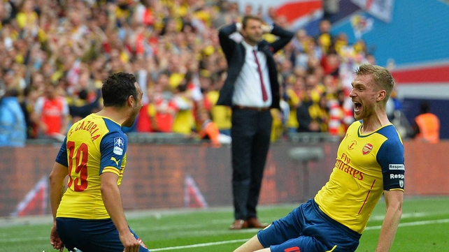 Arsenal retain FA Cup with rout of Aston Villa