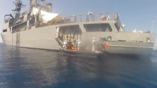 The Defence Forces carried out three rescue missions over the space of 24 hours yesterday