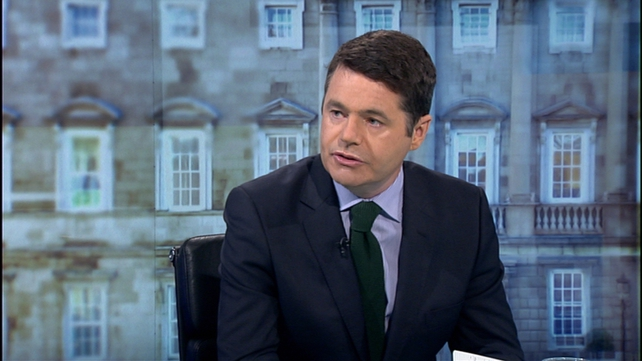 Minister Donohoe said three of the four Luas grades are still engaged in talks