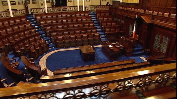 Dáil chamber