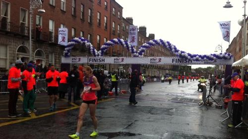 Irish Olympian Maria McCambridge wins VHI Mini Marathon