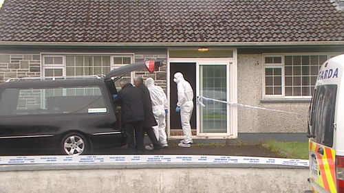 Emergency services were called to a house near Glencorrib shortly after 4pm yesterday