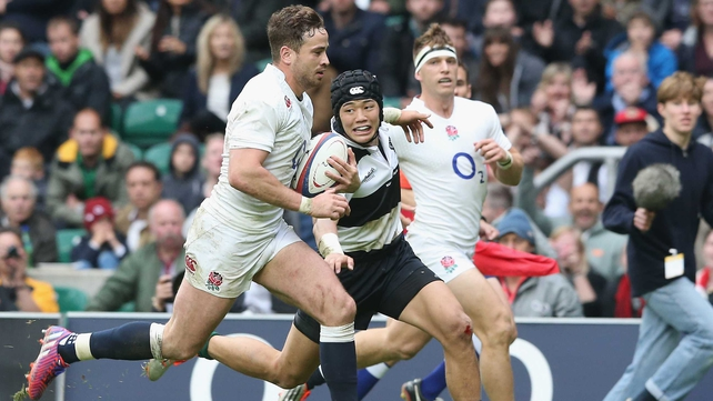Cipriani misses out on England World Cup squad