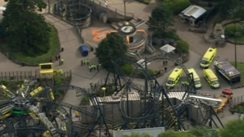 The Smiler is the world's first 14 loop rollercoaster