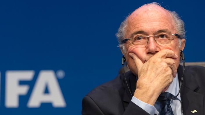 FIFA President Sepp Blatter resigns