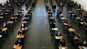 Students have been urged to take care of themselves - as pupils of Maynooth Post Primary School begin the exams