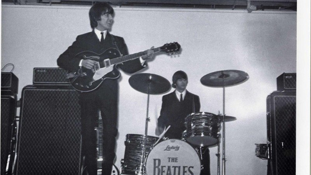 The Beatles at the King's Hall, Belfast in November 1964