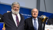 Chuck Blazer (L), pictured with Sepp Blatter in 2012, admitted accepting bribes in conjunction with the awarding of multiple World Cups