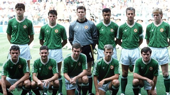 Republic of Ireland Team Italia 90