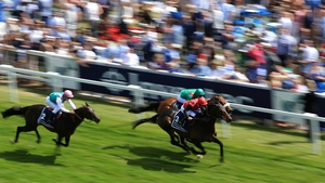 Pether's Moon relished the quick conditions at Epsom