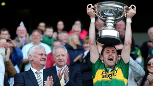 Kerry's John Griffin lifts The Christy Ring Cup