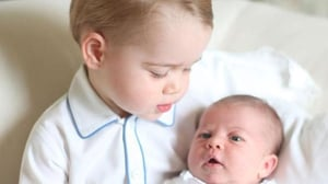 Princess Charlotte is the second child of Britain's Duke and Duchess of Cambridge
