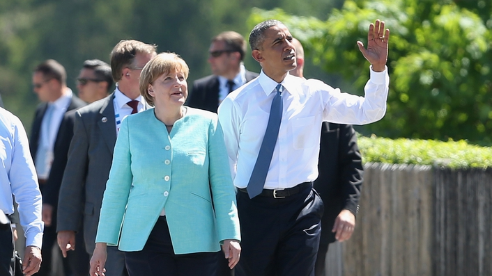 World leaders attend G7 summit in Bavaria