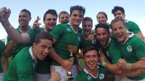 Ireland Sevens with the Rugby Europe Division C title