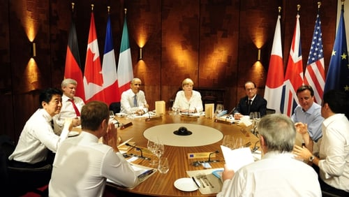 The G7 leaders want Russia and Ukraine to comply with a ceasefire agreed on 12 February
