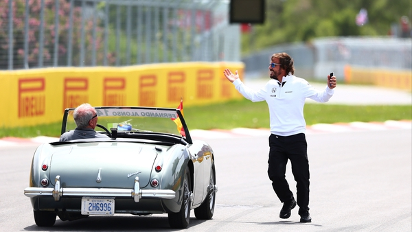 Fernando Alonso was in better form prior to the Grand Prix