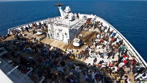 Thousands of people have been rescued attempting to cross the Mediterranean Sea to reach Europe