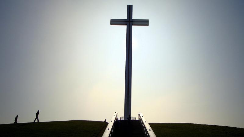 The Papal Cross in Dublin's Phoenix Park. Photo: Aneesh Rahim