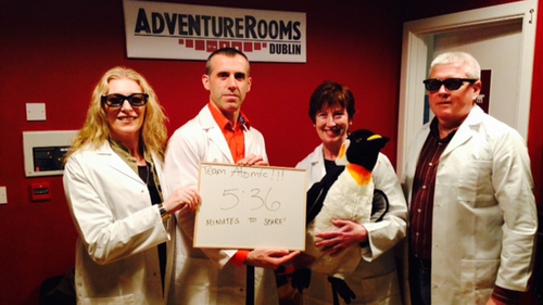 Head on down to the Adventure Rooms located on 6-7 Little Britain Street