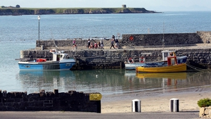A view of the harbour in Rush, Co Dublin (Pic: Bernard Gillespie)