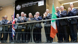 'Ireland Day' celebrated at London Stock Exchange today