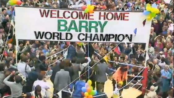Belfast welcomes Barry McGuigan
