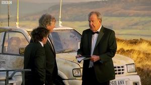 Richard Hammond, James May, and Jeremy Clarkson