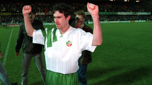 Alan McLoughlin helped the Republic of Ireland reach the World Cup in 1994