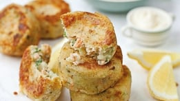 Coriander Fishcakes with Veggie Thai Salad | Donal Skehan