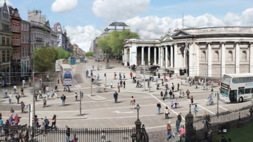 It is proposed to make the Bus Gate at Dublin's College Green operational 24 hours a day