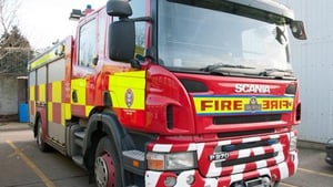 Emergency fire services attended the blaze at around 2am