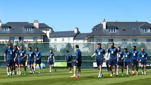 The Ireland squad have been based in Malahide this week