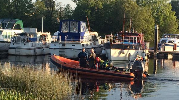 The teenager was taken from the water after a 15 minute search by local divers