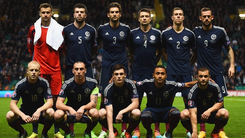 Scotland lie third in the Group D table