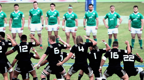 Ireland could not match the raw power, size and speed of the Baby Blacks