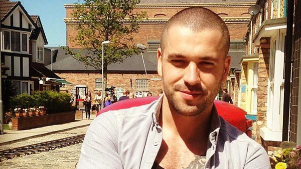 Shayne Ward filmed his first Coronation Street scene in June. Instagram/coronationstreet
