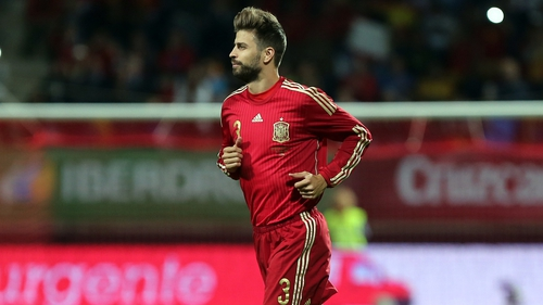 Gerard Pique came in for some harsh treatment for Spain fans