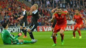 Gareth Bale scored the only goal of the game