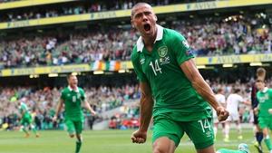 Jon Walters looks set to start for Ireland