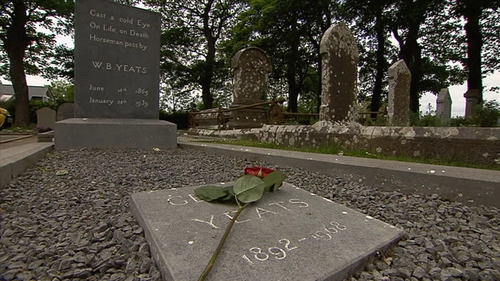 The Dublin born poet considered Sligo his spiritual home