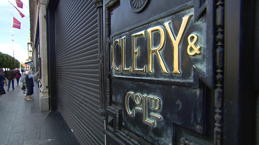 Closure of Clerys in Dublin