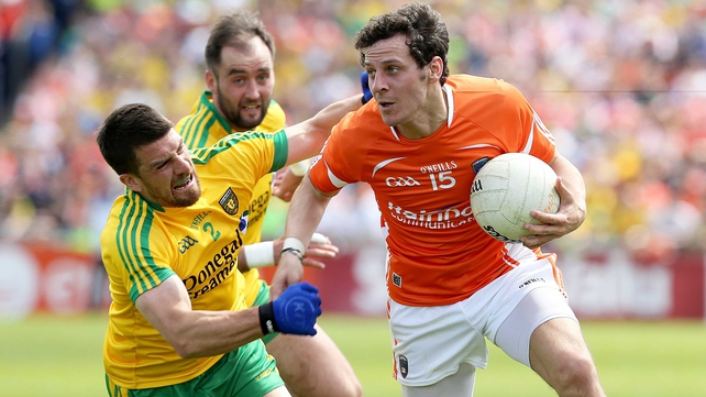 Jamie Clarke will move after Crossmaglen's season has finished