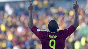 Striker Jose Salomon Rondon scored the only goal of the match