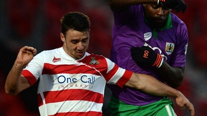 Enda Stevens made 32 appearances for Doncaster last season