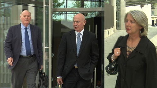 Bernard Daly, Tiarnan O'Mahoney and Aoife Maguire were found guilty on all counts