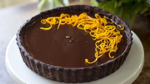 Donal's Chocolate Orange Tart