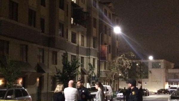 It is believed a 21st birthday party was taking place when the balcony collapsed (Pic: @taramoriarty1)