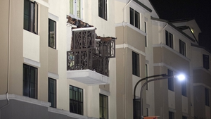 Six students died and more were injured when a balcony collapsed in June 2015
